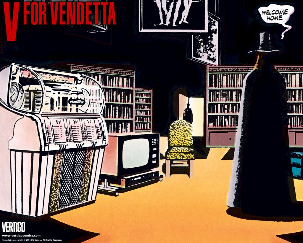 "Download the ""V for Vendetta"" episode."