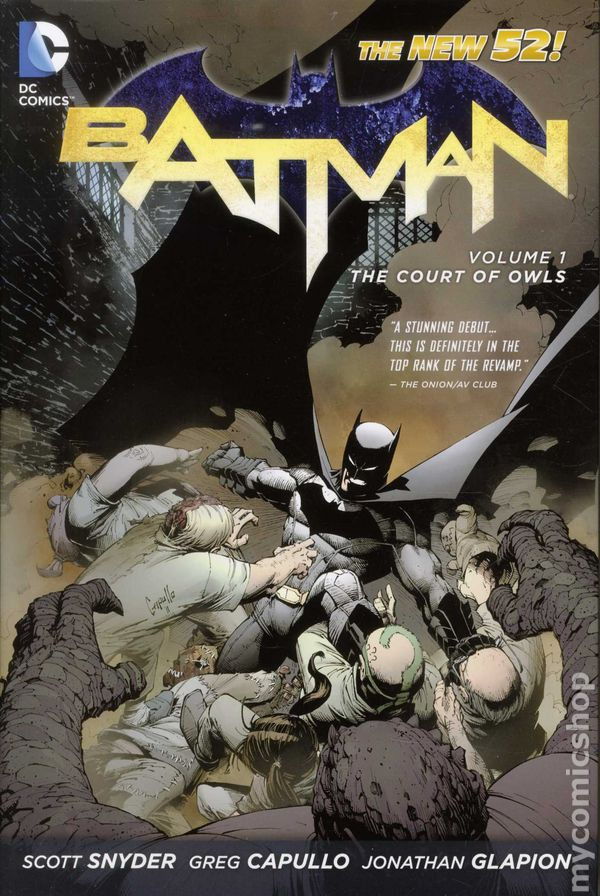 "Download the ""Batman: Court of Owls"" episode."