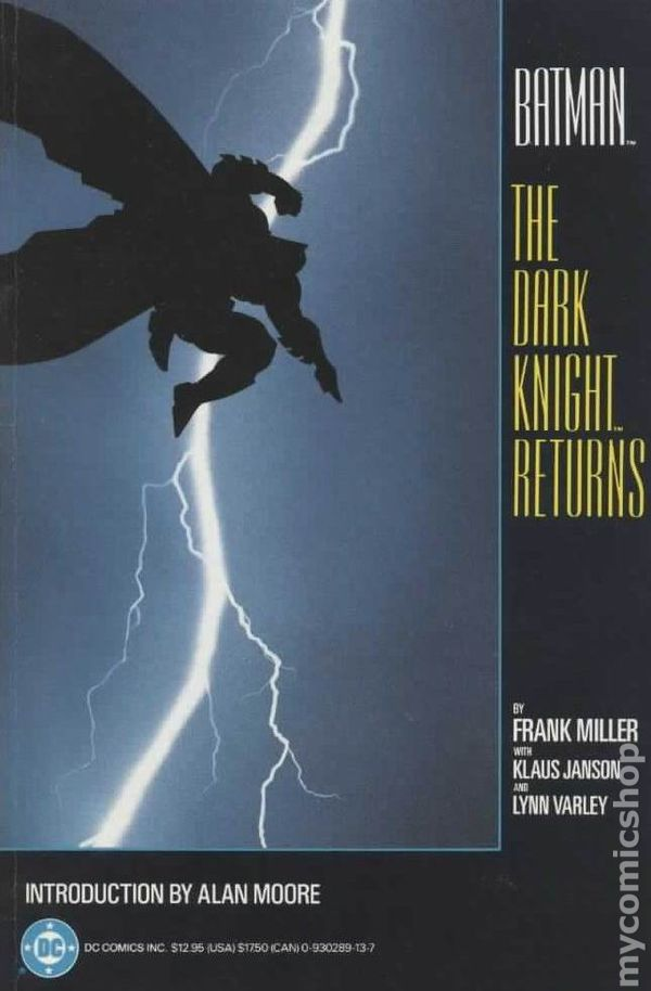 "Download the ""Dark Knight Returns"" episode."