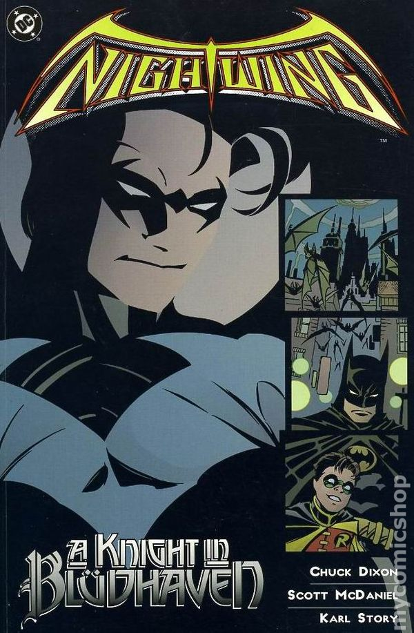 "Download the ""Nightwing: A Knight in Bludhaven"" episode."