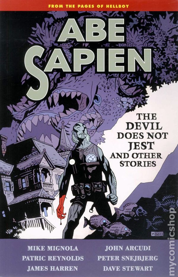 "Download the ""Abe Sapien: The Devil Does Not Jest & Other Stories"" episode."