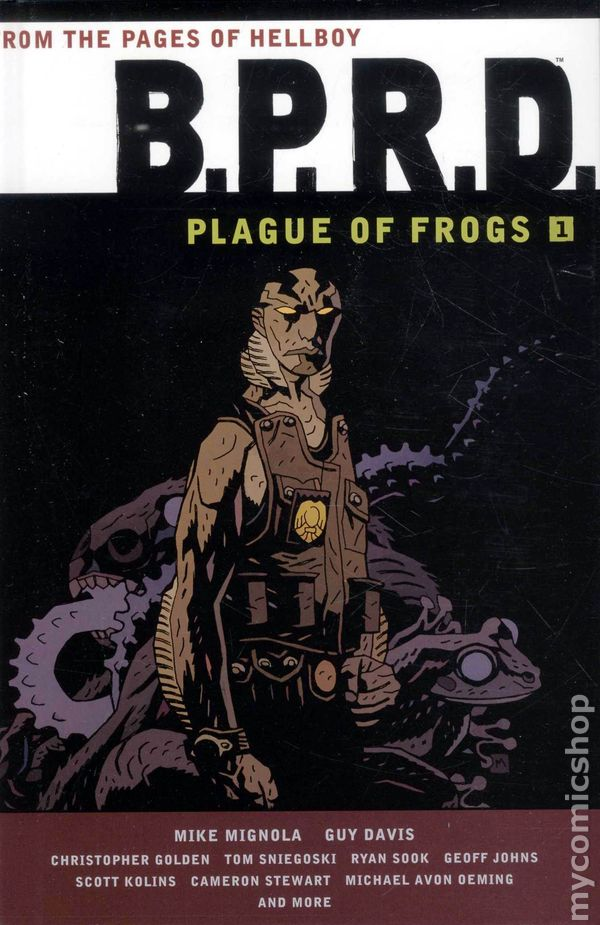 "Download the ""BPRD: Plague of Frogs"" episode."