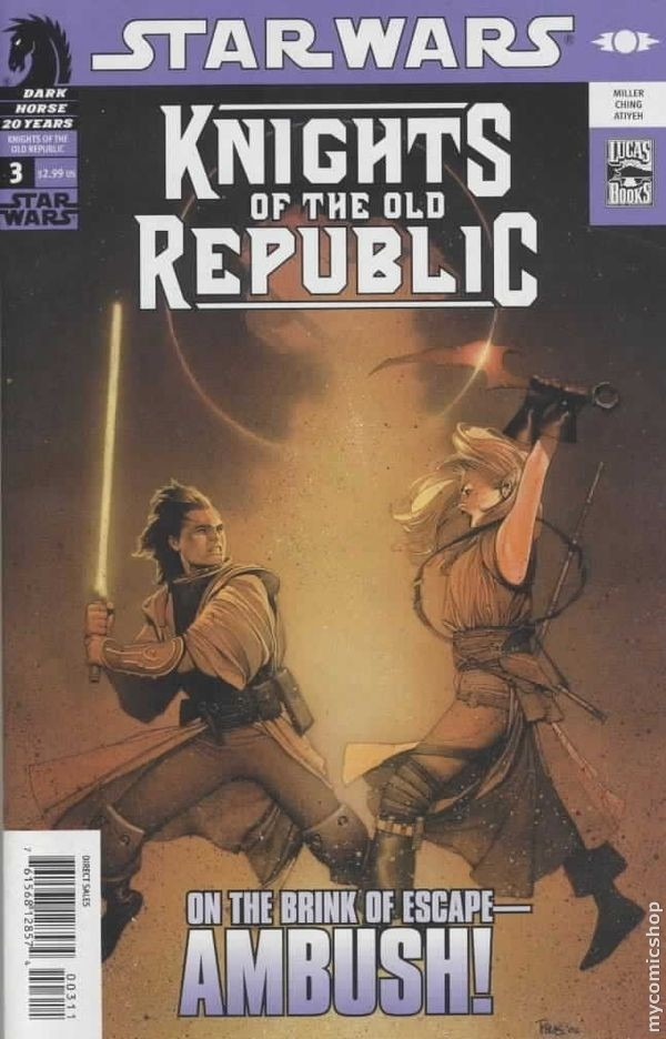 "Download the ""Knights of the Old Republic"" episode."