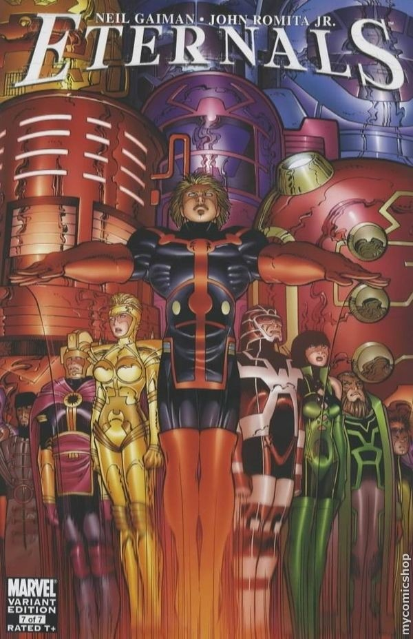 "Download the ""Eternals"" episode."