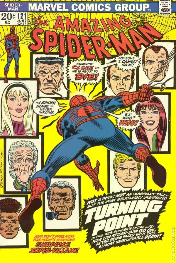"Download the ""Death of Gwen Stacy"" episode."